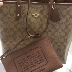 New coach large tote
